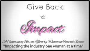 GIVE BACK TO IMPACT BANNER